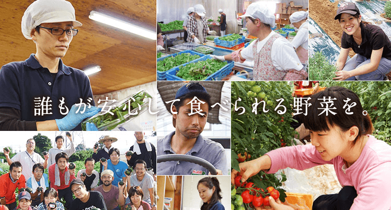 当店は有機農園から始まった宅配サービスです。全国の農家さんと連携して有機または無農薬栽培のお野菜や、自然のままの加工食品だけをお届けしています。