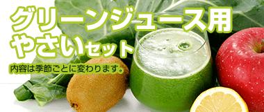 グリーンジュース用やさいセット
