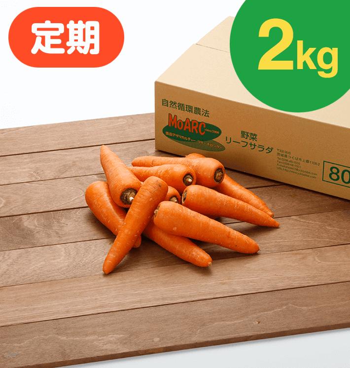【お得な定期購入】ジュース用にんじん(2kg)