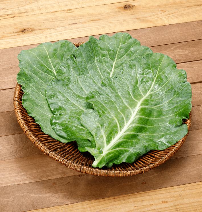 無農薬ケール生葉(200~500g)の通販・宅配セット