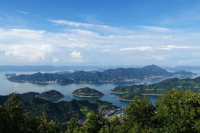 広島の離島、大崎上島の風景