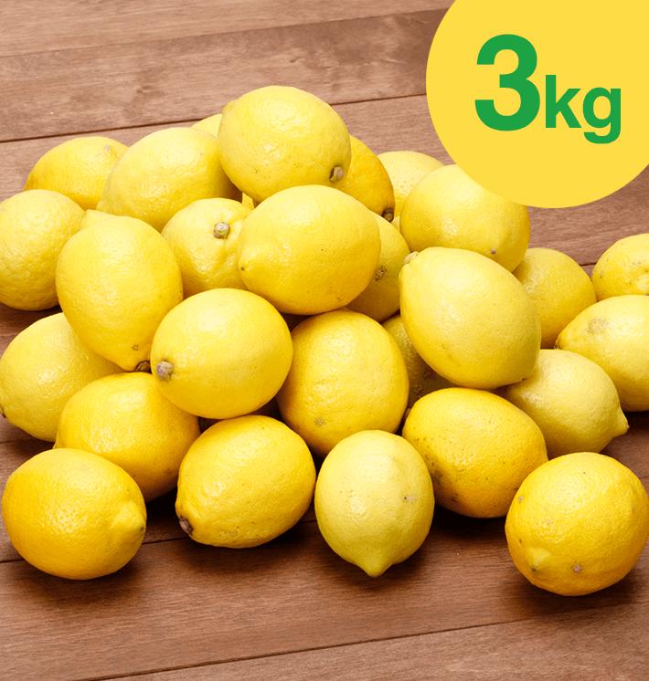 国産レモン(3kg)